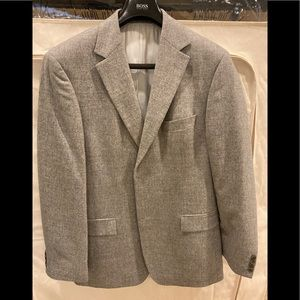 Hugo Boss Grey Blazer - Rare Made is USA